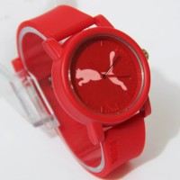 Puma Sporty Rubber Color Red Unisex 02625