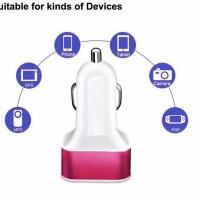 Charger Mobil 2 USB / Dual USB Car Charger / Casan Mobil 2 Output