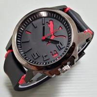 Puma Ultrasize Rubber Black Red Best Quality