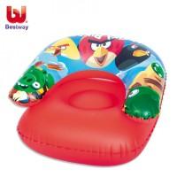 Bestway Angry Birds Sofa Angin Tiup Pompa Balon Anak Inflatable Chair