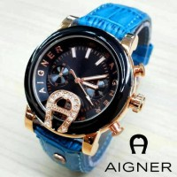 Aigner Bari SKY-02 Leather Blue Ocean 07725