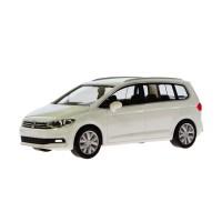 Jual Kado Natal Miniatur Mobil Volkswagen New Touran Pure White Herpa 1:87 Murah
