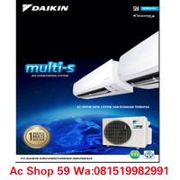 "AC DAIKIN MULTI-S""2 MKC 30 QVM4(1/2 PK+1/2 PK) INVERTER 2 INDOOR"