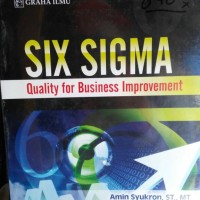 Six sigma quality for business improvement Amin Syukron, ST, MT