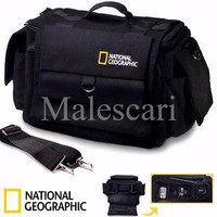 Tas Kamera Slempang National Geographic Kanvas