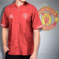 Promo!!! Baju Koko Ss Tipe A Mu Red | Jaket Distro Bandung | Jaket Di