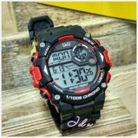 TREND!! Jam Tangan Pria Sport Military Q&Q M146J Hitam Limited