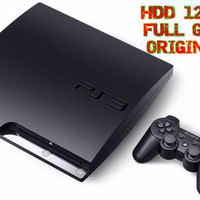EXCLUSIVE Harga Murah !!! Playstation Ps3 Sony Slim Hdd 120 Gb + Stick