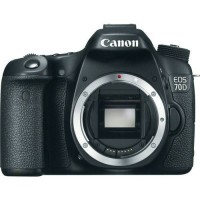 Canon EOS 70D DSLR Body Only Built-in Wifi