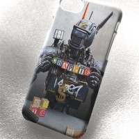 Custom Case Chappie robot iphone samsung galaxy casing bb htc