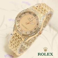 Hot Item Jam Tangan Wanita / Cewek Rolex Rantai Ladies Romawi