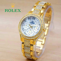 Hot Item Jam Tangan Cewek / Wanita Rolex R10