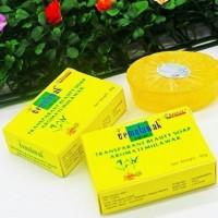 Sabun Temulawak Transparant Whitening Beauty Soap New Original