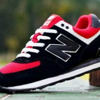 SEPATU NEW BALANCE 574 ENCAP MAN BLACK RED