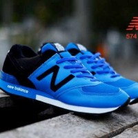 Sneakers New Balance 574 Blue Black