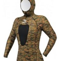 harga vsh100 camo flase / wetsuit atasan Tokopedia.com