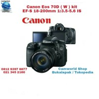 Canon Eos 70D ( W ) Kit EF-S 18-200mm 1:3.5-5.6 IS