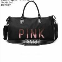 Jual tas Victoria secret pink original travel bag uk.42.20.22 Murah