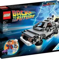 21103 Lego Delorean Time Machine Ideas CUUSOO