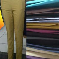 Jual celana bahan wanita /kantoran slim fit halus Murah