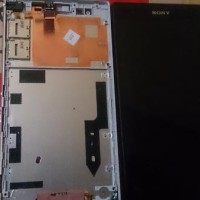 Lcd Sony Xperia T2 Ultra Full Bazel Ori