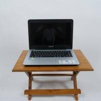 harga Meja Lipat/Laptop/Belajar/Mengaji/Bhn Kayu UK.50x30x28 Tokopedia.com