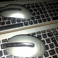 Lenovo UltraSlim Keyboard dan Mouse Wireless Silver Praktis Handal Oke