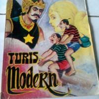 Komik Petruk Gareng Turis Modern