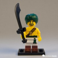 Lego Original Minifigure Desert Warrior Series 16