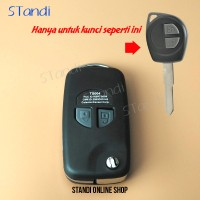 Casing Kunci Lipat Flip Key Rumah Kunci Suzuki Ertiga Swift Karimun