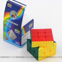 Rubik 3x3 Shengshou Rainbow Speed cube 3x3 stickerless