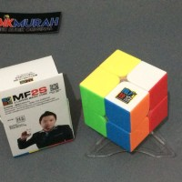 Rubik 2x2 MoYu MoFang JiaoShi MF2s Stickerless Red