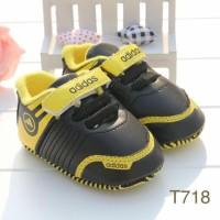 sepatu / pws T718 adidas black /