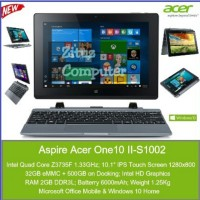 Acer One 10 S1002 laptop tablet