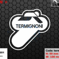 ea cutting sticker / decal Code: termignoni 2 ( sponsor logo )