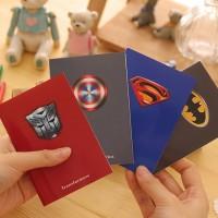 Mini Pocket Notebook / Buku Tulis / Caatatan / Memo Unik Superhero