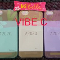 Ultrathin Softcase Lenovo Vibe C A2020 ultra thin soft jely back case