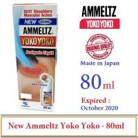 New Ammeltz Yoko Yoko 80ml / Obat Nyeri Sendi - Made In Japan