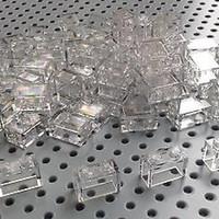 Lego Clear Brick Transparent 1x2 1 set isi 28 pieces