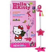 harga Mic Standing Anak,microphone Hello Kitty Microphone Tokopedia.com