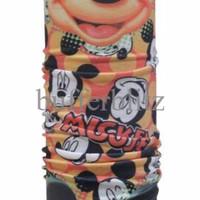 CK Bandana Buff Headware Multifungsi Motif Mickey Mouse Bufferblitz