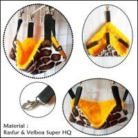 Jual Sleeping pouch sugar glider / Single Pouch Sugar Glider Yellow Giraffe Murah