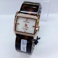 JAM TANGAN DGT Wanita Hegner 396 Original Rosegold Brown SALE Limited