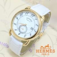 JAM TANGAN DGT Wanita Hermes Paris Rosegold White SALE Limited