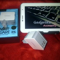 Adaptor Vivan Power Square 2.5A Double USB Charger Ori + Warranty 1 Thn