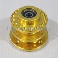 harga Tromol Depan CNC Trusty + Bearing Satria FU Gold Tokopedia.com