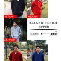 Supplier Sweater Polos Hodie Zipper Termurah, Kualitas Distro