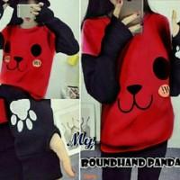 Sweater panda jempol-sweater online-sweater lucu-sweater korea-AL