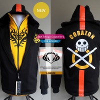 Jaket Sweater Corazon Trafalgar Law Ver 2