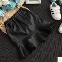 Skirt lala leather kids original import